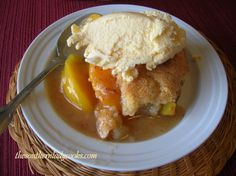 PEACHY PEACH CRISP | The Southern Lady Cooks