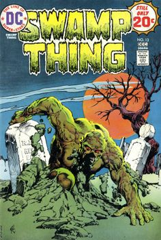 Who's better -- Man-Thing or Swamp Thing? I made the choice for the latter because I'm more of a DC fan...