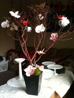 Asian Style Centerpiece Wedding Oriental Anese Zen