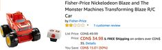 Amazon Canada Deals: Save 31% on Fisher-Price 2-in-1 Activity Chime Ball & 30% on Fisher-Price Nickelodeon Blaze... http://www.lavahotdeals.com/ca/cheap/amazon-canada-deals-save-31-fisher-price-2/217395?utm_source=pinterest&utm_medium=rss&utm_campaign=at_lavahotdeals