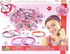#Hello kitty bracelet & bead set make your own #jewellery #girls craft toy gift n,  View more on the LINK: http://www.zeppy.io/product/gb/2/131073310907/