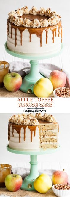 Healthy Desserts That You Can Easily Cook Low Carb Desserts, Just Desserts, Delicious Desserts, Yummy Food, Healthy Desserts, Toffee, Crunch Cake, Cupcake Cakes, Cupcakes
