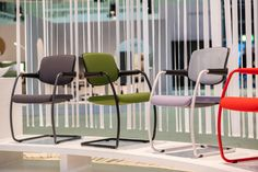 Orgatec 2018 - A showcase of great design Floor Chair, Workplace, Reflection, Creativity, Colours, Events, Nature, House, Furniture