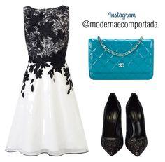 """Instagram - @modernaecomportada"" by gessilene-ferreira on Polyvore featuring moda, Coast, Casadei, Chanel e modern"