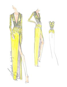 Sketched Out: Preview 30 Spring Collections From Fashion Week: Vibrant —Rebecca Minkoff : New York Fashion Week's only a few days away (nine to be precise), and we can't wait to see what our favorite designers have in store. So thankfully, when we asked for a sneak peek of sketches, designers like Charlotte Ronson, Erin Fetherston, and Rebecca Minkoff (seen here) gladly complied. Since a picture says 1,000 words, we asked the designers to keep it brief when describing the inspiration for…