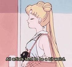 sailor moon, anime, and art image Sailor Moons, Sailor Moon Crystal, Sailor Moon Quotes, Sailor Venus, Sailor Moon Aesthetic, Pink Aesthetic, Aesthetic Anime, Blonde Aesthetic, Artist Aesthetic