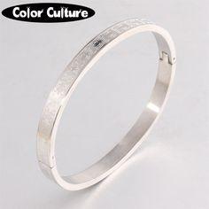 Fashion Love Bangles& Bracelets For Women 316L stainless steel bracelets Brand Lover Charm Bracelets 605