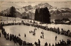 Villars sur Ollon Skiing, Painting, Outdoor, Hill Country Resort, Antique Post Cards, Tourism, Ski, Outdoors, Painting Art