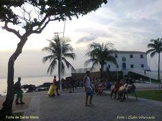 Forte de Santa Maria              Foto - Cida Werneck