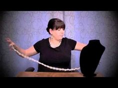 "premier jewelry ""opening night"" pearl necklace tutorial"