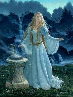 MAGIC AUM: MAGIC CONSEJOS CELTIC Tolkien, Fantasy Women, Fantasy Art, Art Magique, Earth Design, Fairytale Art, Samhain, Middle Earth, Lotr