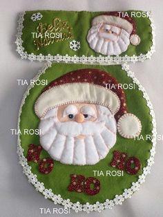 Adorno Christmas Sewing, Felt Christmas, Christmas Time, Christmas Crafts, Christmas Decorations, Xmas, Christmas Ornaments, Holiday Decor, Christmas Stuff