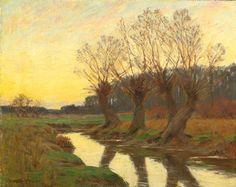 William Merritt Post  The Stream, ca. 1890s