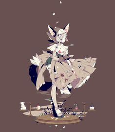 Lolita art By shikimi