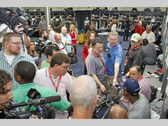 The media frenzy never ends.