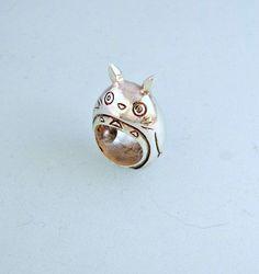 Anello in argento 925 Totoro