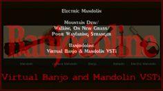 Mountain Dew/Walking On New Grass/Poor Wayfaring Stranger: Banjodoline Virtual Electric Mandolin VST Plugin Software - #MountainDew #WalkingOnNewGrass #PoorWayfaringStranger #Banjodoline #VirtualMandolin #ElectricMandolin #MandolinVST http://youtu.be/LGX3UYznh08