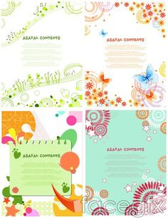 Cute young background vector