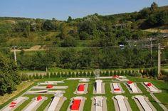 Kudy z nudy - Minigolfové hřiště Němčičky Baseball Field, Golf, Sports, Hs Sports, Sport, Turtleneck