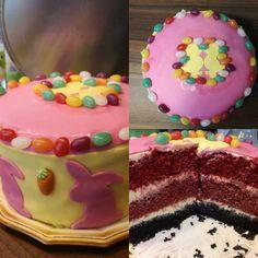 Red velvet cake Velvet Cake, Red Velvet, Birthday Cake, Desserts, Food, Tailgate Desserts, Deserts, Birthday Cakes, Essen