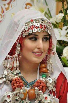 Moroccan berber bride