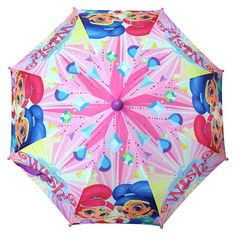 Kids' Umbrella Shimmer and Shine Multi-Colored