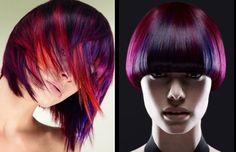 Tone purple hair