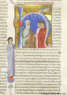 Bible, MS M.436 fol. 59r - Images from Medieval and Renaissance Manuscripts - The Morgan Library & Museum
