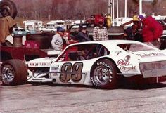 Vintage modified race car Geoff Bodine