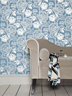 Farrow & Ball Peony - I love this wallpaper, am I crazy?
