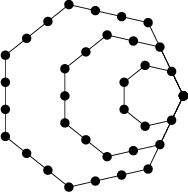 \begin{figure}\begin{center}\BoxedEPSF{HeptagonalNumber.epsf scaled 600}\end{center}\end{figure}