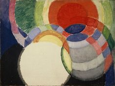 Frantisek Kupka (1871-1957) – Les disques de Newton. František Kupka was a Czech painter and graphic artist. He was a pioneer andl co-founder of the early phases of the abstract art movement and Orphic cubism.