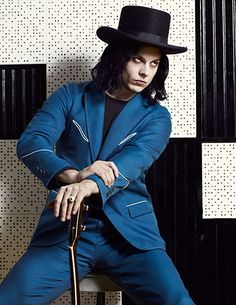 everything Johnny Depp dreams of being...with knobs on: Jack White