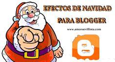 efectos de navidad en blogger