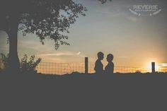 Sunset in love.