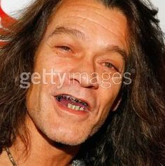 Eddie Van Halen not so long ago, obviously with Meth Mouth. I'm glad he's gotten healthy again.