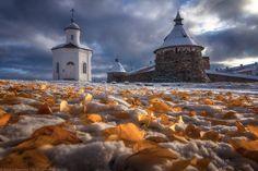 Зимняя осень — National Geographic Россия - The Solovetsky Islands. Arhangelsk region.