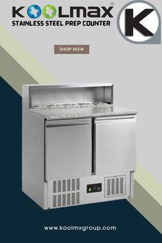 If you're looking for a multi-functional equipment that guarantees the desired level of efficiency in a busy commercial kitchen, then Stainless Steel Refrigerated Prep Counter are the perfect option to choose. Our counter chillers are manufactured with stainless steel and are ideal for preparing and storing food that requires optimum temperature conditions. For more Information please call now 01204 32 44 33 or Visit. #refrigeratedprepcounter #prepcounter Commercial Catering Equipment, Commercial Kitchen, Save Energy, Washing Machine, Counter, Prepping, Conditioner, Home Appliances, Stainless Steel