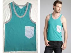 MEN'S Y-3 Y3 YOHJI YAMAMOTO for ADIDAS POCKET COTTON-STRETCH MUSCLE TANK TOP XS in Clothing, Shoes & Accessories, Men's Clothing, Casual Shirts | eBay