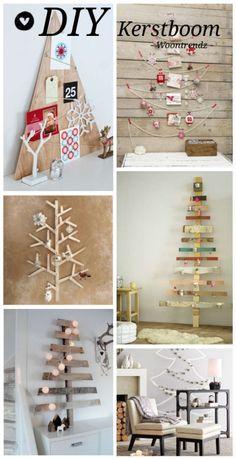 Top 6 #DIY alternatieve kerstbomen: ideaal voor een kerstsfeer in de slaapkamer!