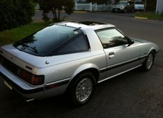 1984-1985 Mazda Rx7 GSL-SE. In the final 2 years of the original RX