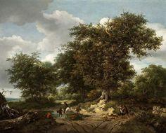 Ruisdael - The Great Oak. 1652