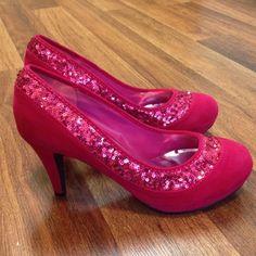 Hot Pink 3 Inch Heels