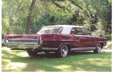 1964 Pontiac Bonneville My first car, given to me by my mother when I was 13 years old... was a red hardtop with 389 and a carter 4bbl....