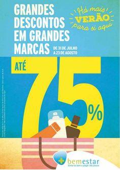 f6e0dc6149a41 Grandes descontos em grandes marcas até 75 % - Folheto Pingo Doce de 31 07 2015  a 23 08 2015
