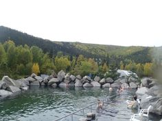 A Visit to the Chena Hot Springs in Fairbanks, Alaska
