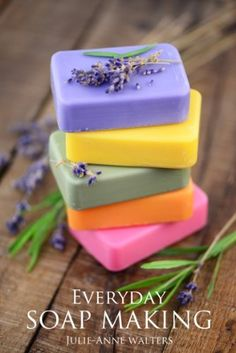 Free download 31AUG- Everyday Soap Making: Go From Beginner To Expert In Learning How to Make, Natural, Easy, Handmade Soap From Scratch. by Julie-Anne Walters, -In this book Julie-Anne Walters, a professional soap and candle maker from Hertfordshire, England guides you from beginner to expert in soap making. With her simple step by step approach anyone can master the art of soap making, for professional or personal purposes. She includes 30 of her bestselling recipes,