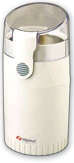 Alpina SF-2811 Electric Coffee/Spice/Nut Grinder for 220/240 Volt Countries (Not for USA), White ** Want to know more, click on the image.