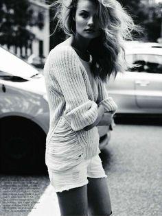 Magdalena Frackowiak by Claudia Knoepfel + Stefan Indlekofer for Vogue Paris November 2011