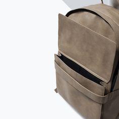 ZARA - SHOES & BAGS - 프런트 포켓 백팩